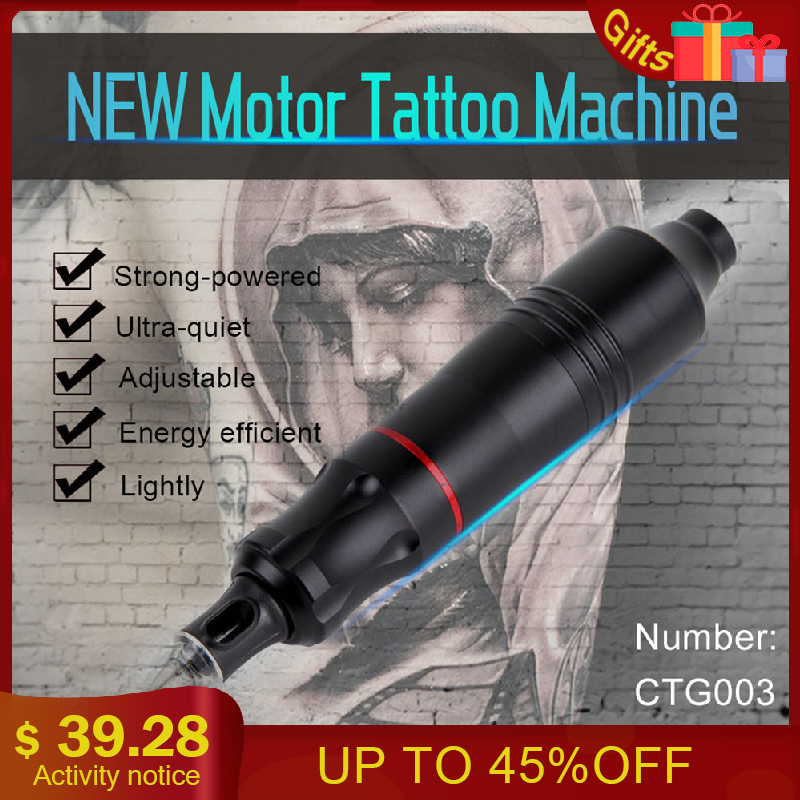 Biomaser CTG003 Tattoo Machine Professional Rotary Tattoo Gun 4.5W Powerful Moter Tattoo Pen Machine Rotary Guns SuppliesBiomaser CTG003 Tattoo Machine Professional Rotary Tattoo Gun 4.5W Powerful Moter Tattoo Pen Machine Rotary Guns Supplies