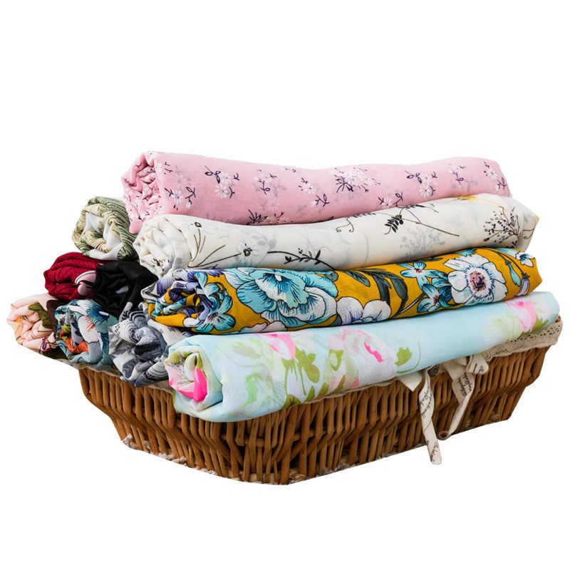 0,27 yards dünne vintage floral stoff chiffon für Sommer kleid und frauen hemd kann sehen obwohl 25x15 0 cm/teil TJ3305