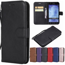 Leather Flip Phone Case For Samsung Galaxy J5 Case 2015 J500