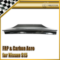 EPR Car Styling For Nissan S15 Silvia RB Style FRP Fiber Glass Rear Spoiler Car Accessories