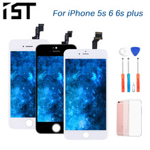 2019 IST 100% AAA Original LCD Screen For iPhone 6 6s Plus 5s Touch Screen LCD Replacement Display LCDS Touch Module Screens ac150xa01 lcd display screens
