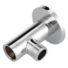 Хромированный душевой удлинитель фиксированная Труба Душевой набор настенный душевой кронштейн для дома для ванной для душа аксессуары для ванной комнаты