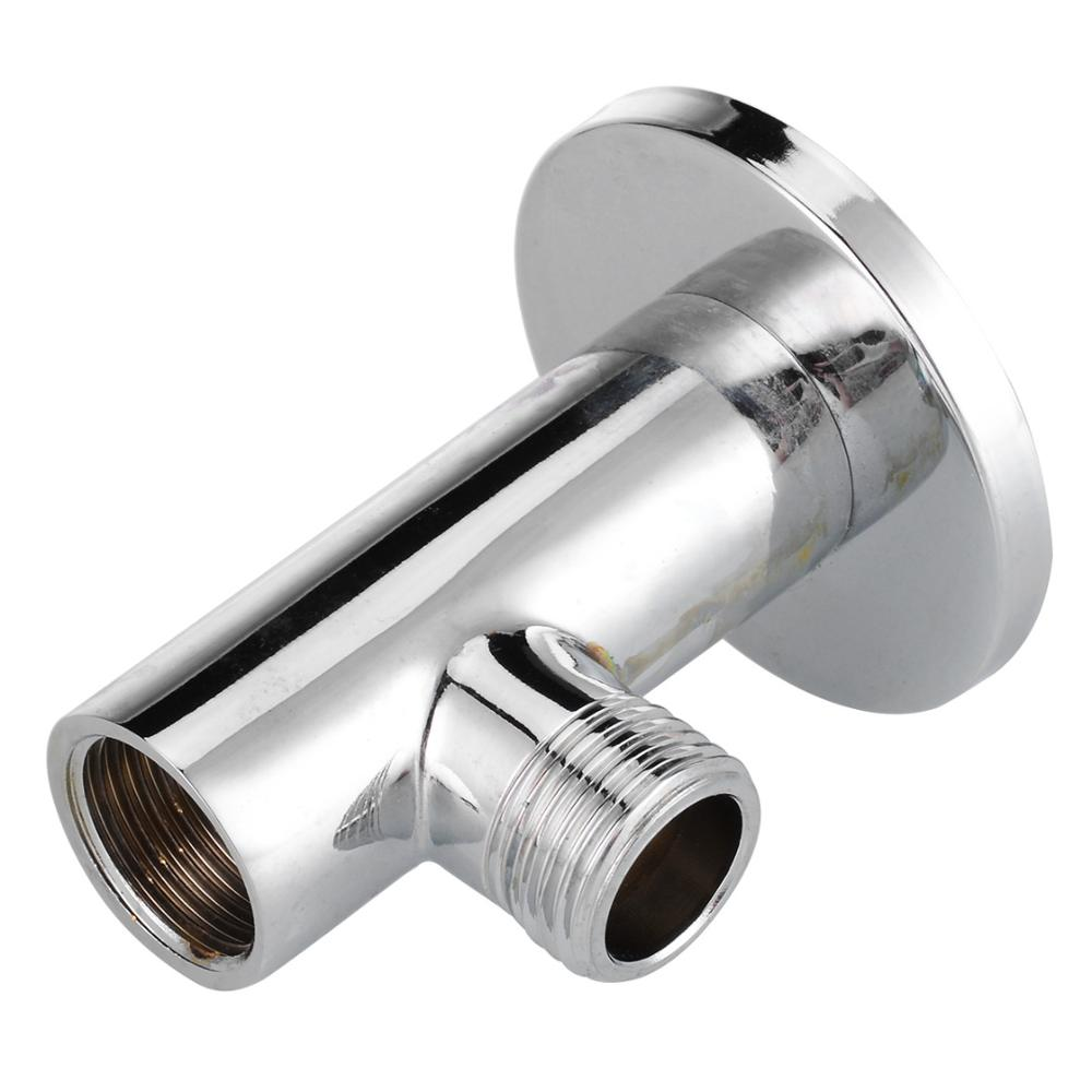 Shower Head Extension Arm Fixed Pipe Shower Set Wall Mounted Chrome Plated Shower Arm For Home Bathroom Shower Accessories