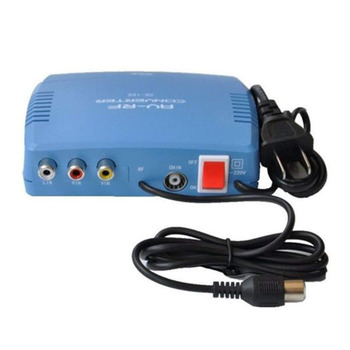 RF Modulator Converter Televisie Systeem TV Signaal Standaard Audio Video Signal Converter AV RF Modulator TV 220V EU /US Plug
