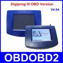 Más nuevo OBD Versión de la Unidad Principal De Digiprog III Digiprog3 Programador Del Odómetro con OBD2 ST01 ST04 Cable Digiprog 3 Kilometraje Corrección