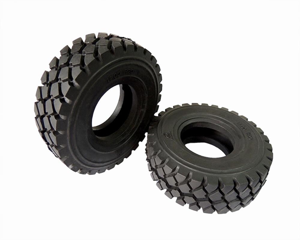 100mm 2 pces pneus de borracha pneu para tamiya 1 14 escala rc actros dakar rally