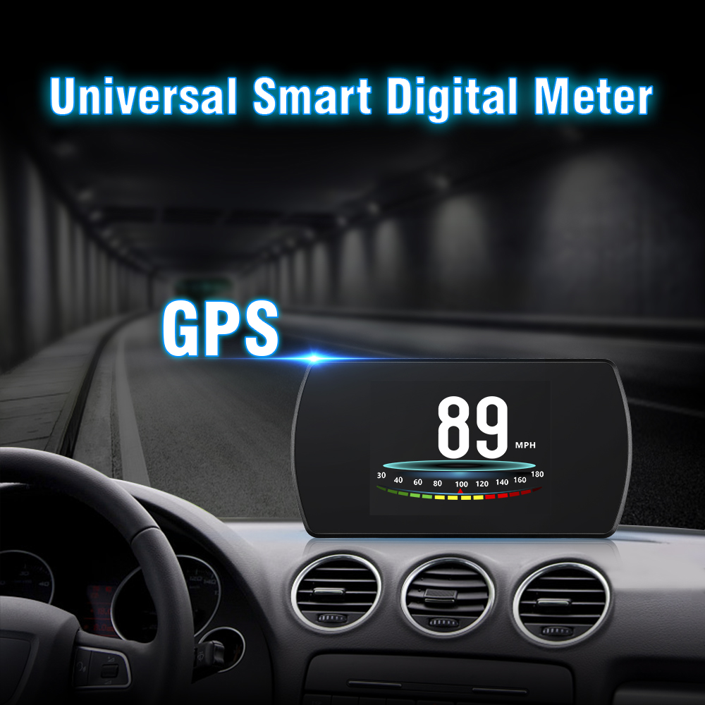 Image 4 - GEYIREN P12 Car OBD2 On Board Computer Multi Function OBD Digital Speed Meter RPM Gauge Auto Diagnostic Fault Code Tool-in Head-up Display from Automobiles & Motorcycles
