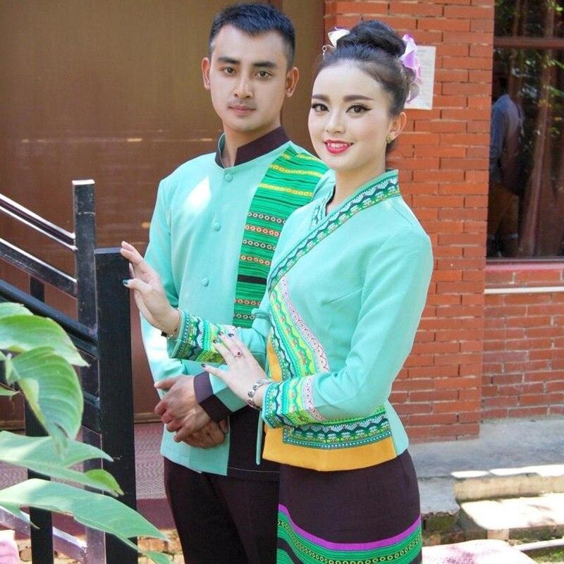 Spa uniform myanmar asia thai massage uniform salon for Uniform thai spa