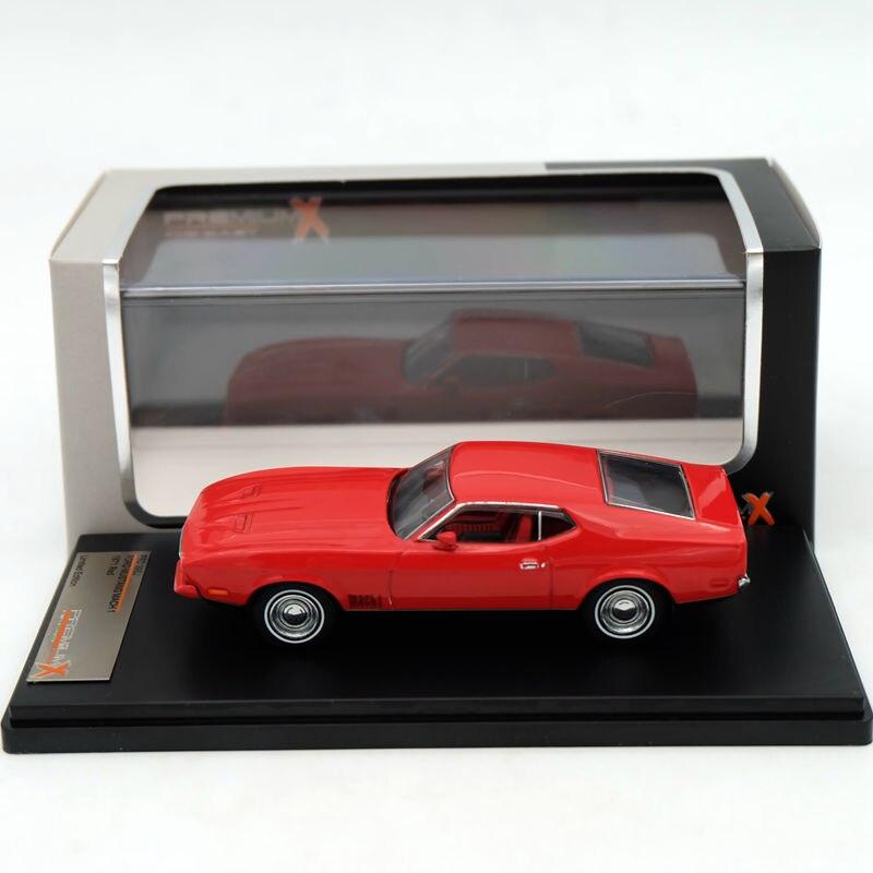 Prime X 1:43 Ford Mustang Mach 1 1971 Rouge PRD396J Résine Modèles De Voiture Édition Limitée Auto Collection