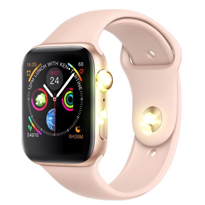 Nouveau IWO 8 montre intelligente série 4 hommes femmes Bluetooth SmartWatch pour Apple iOS iPhone Xiaomi Android smartphone mise à niveau IWO 7 5 6