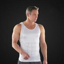 Новый 2015 мужчины корсет тела для похудения пластика формирователь жилет талии живота ремень Shapewear нижнее белье A3091