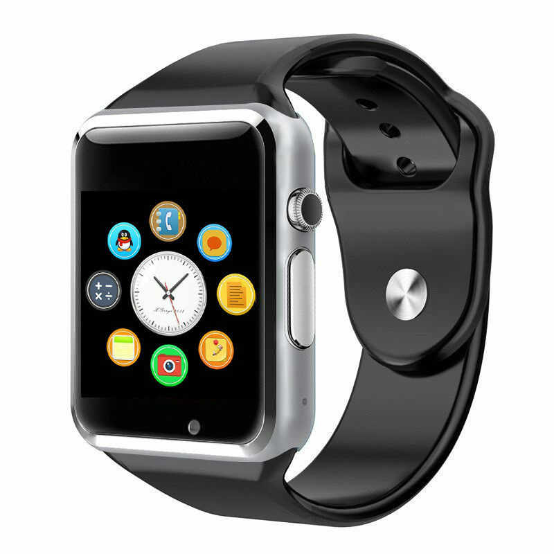 A1 smart watch גברים נשים מגע מסך חיצוני ספורט כושר פדומטר מצלמה smart watch טלפון תמיכה ה-SIM TF אנדרואיד IOS PK Q18