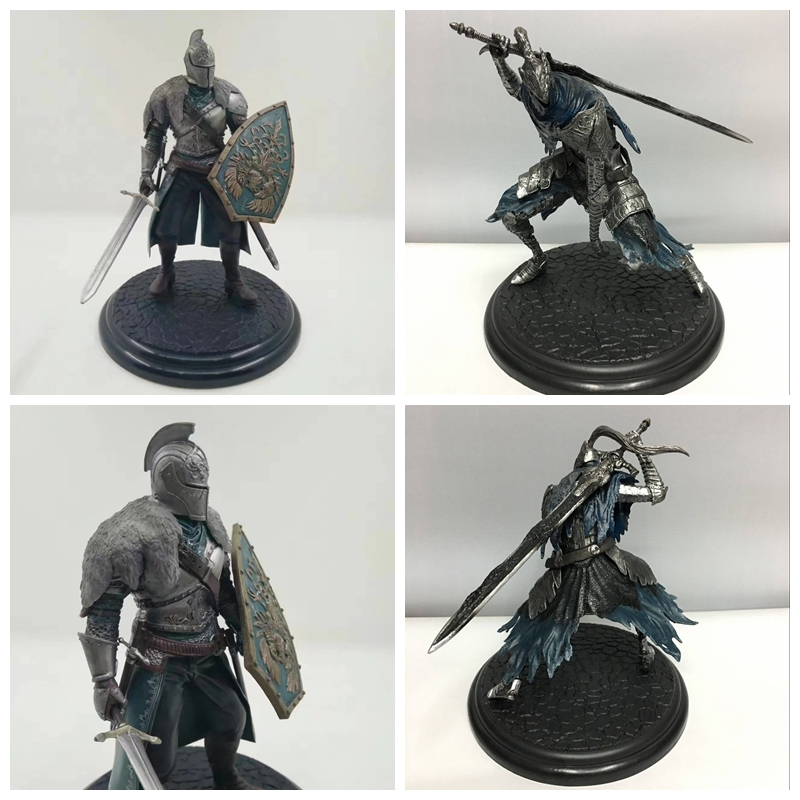 2 Styles Dark Souls Faraam Knight / Artorias Doll The Abysswalker PVC Action&Figure Collectible Model Toy For Kids Baby Gifts star wars jedi knight master yoda pvc action figure collectible model toy doll gift 12cm kt2029