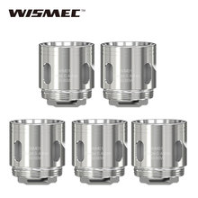 10pcs Original WISMEC WM Coil Head Replacement Core 0.4ohm WM01/0.15ohm WM02/0.2ohm WM03 Coil for Gnome Atomizer Tank E-cig Coil