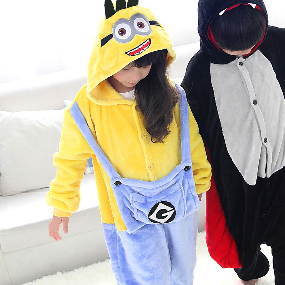 dbc79c2ba Hot!!! Bat Minions Onesie For Children Kids Boys Girls Cosplay ...