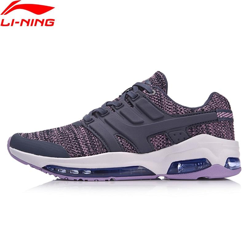 Li-Ning/Женская прогулочная обувь с подушечкой в виде пузырьков DB, удобные кроссовки для фитнеса, дышащая спортивная обувь с подкладкой, AGCN008 ...