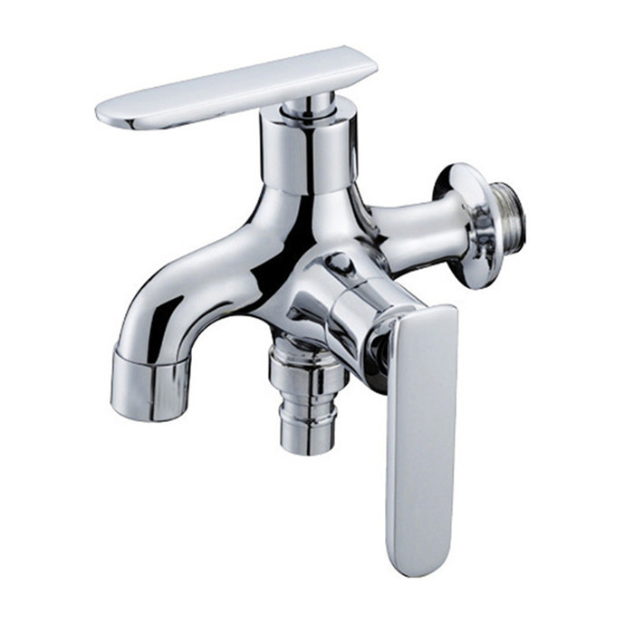 Free shipping Brass Multi function Cold Tap Washing Machine Faucet ...