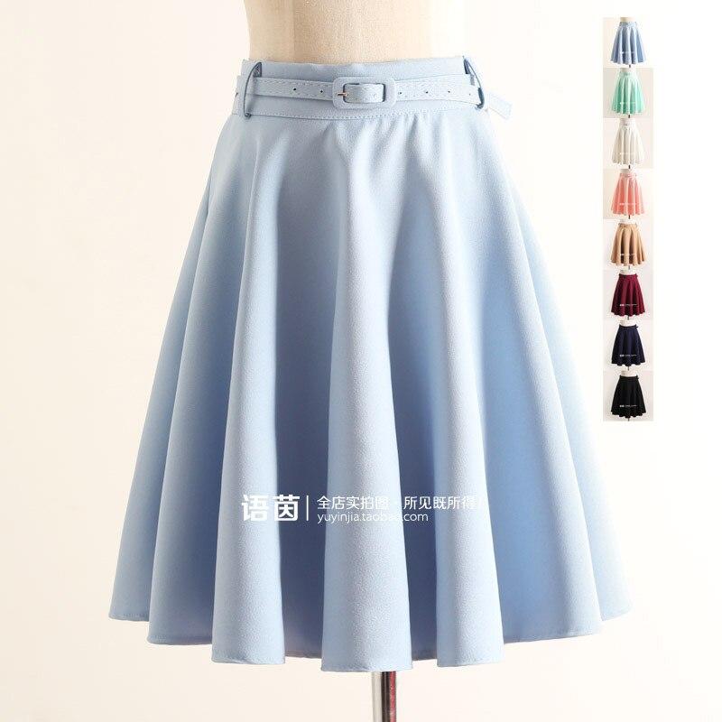 Мода на юбки в японии