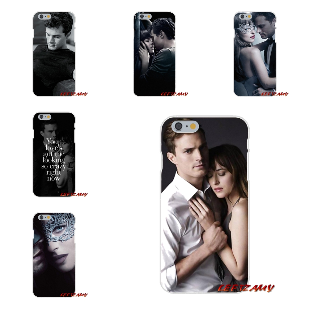 For Sony Xperia Z Z1 Z2 Z3 Z4 Z5 compact M2 M4 M5 E3 T3 XA Aqua Fifty Shades of Grey darker Accessories Phone Cases Covers