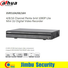 Dahua 1080P XVR video recorder XVR5104H XVR5108H XVR5116H 4ch 8ch 16chSupport HDCVI/ AHD/TVI/CVBS/IP video inputs 1 SATA HDD