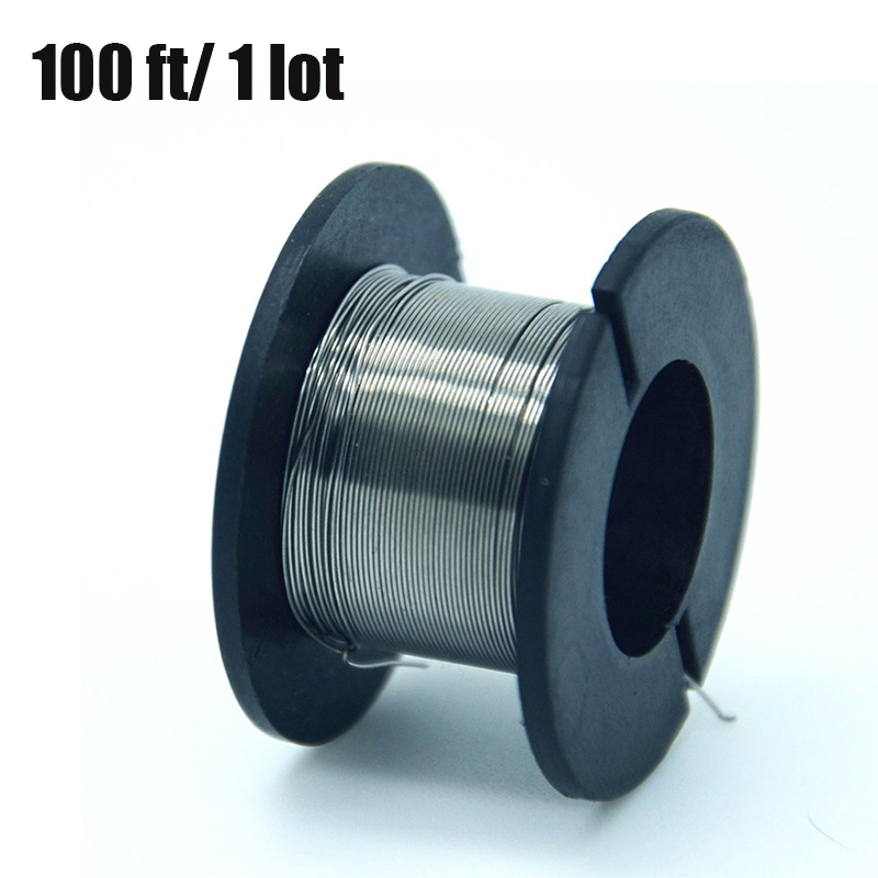 1PCS/30meters 28g Nichrome wire Diameter 0.3MM kanthal a1 DIY Manufacturing Heating wire Resistance wire Alloy heating yarn-in Transmission & Cables from Security & Protection