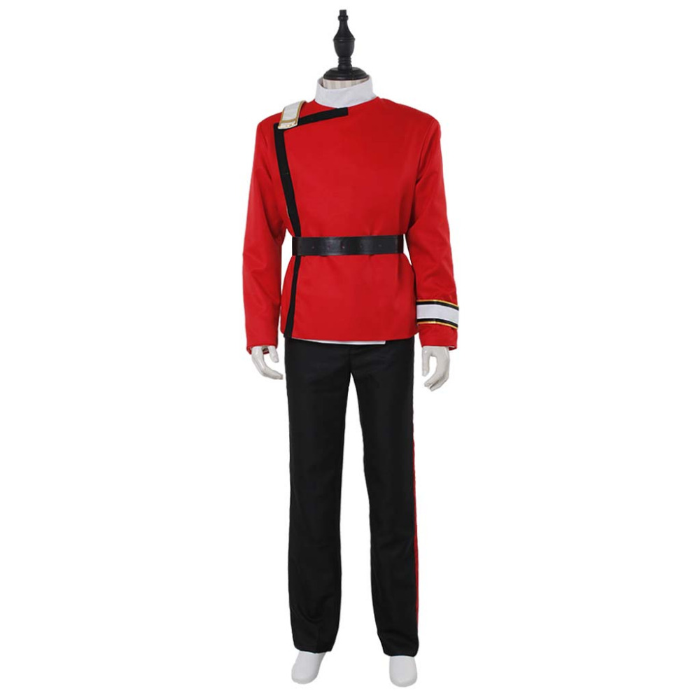 Star Trek II-VI Wrath of Khan Starfleet Cosplay Costume Halloween Suit Outfit Custom Made