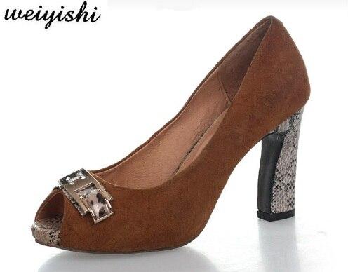 2018 women new fashion shoes lady shoes weiyishi brand 035