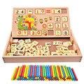 BOHS Operación y Dibujo De La Caja de Múltiples Funciones Matemáticas medios de Enseñanza Montessori Preescolar Aprendizaje Juguetes Educativos Para La Primera Infancia