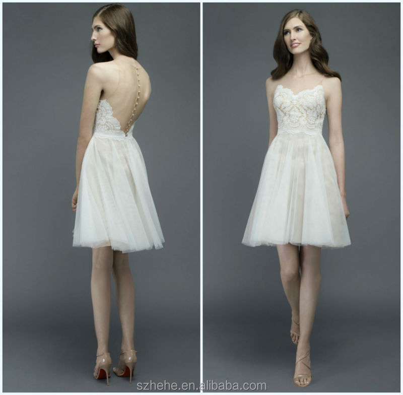 Short Casual Wedding Dresses Beach - Ocodea.com