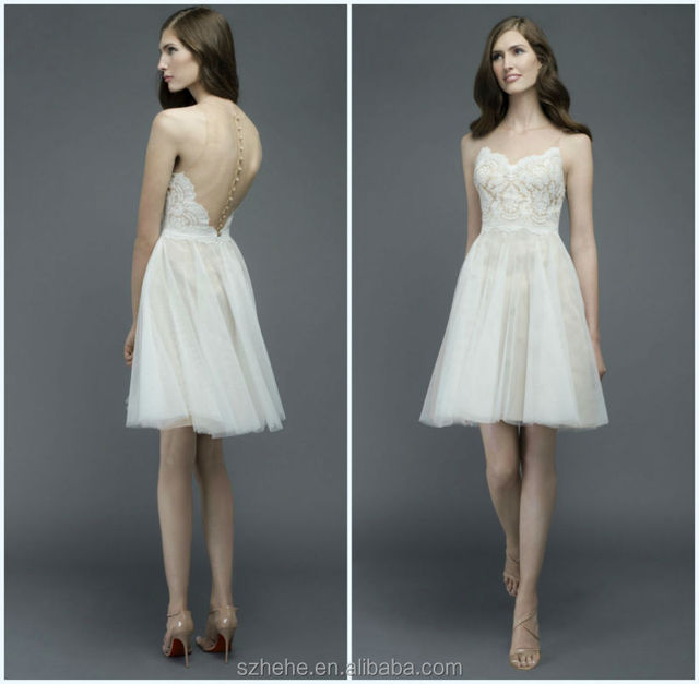 Jmidals cw3199 summer lace and tulle bare back casual beach bridals cw3199 summer lace and tulle bare back casual beach sexy short wedding dresses junglespirit Choice Image
