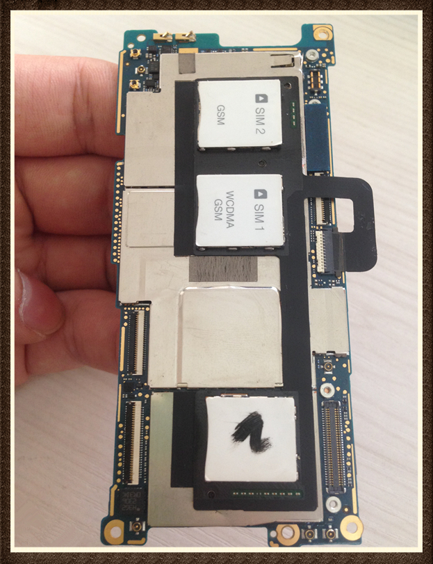 Choose Language ~Unlock Good quality Original Motherboard For  ONE M7 802 32GB dual sim free shipping