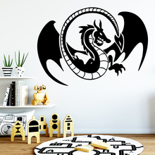 Colorful dragon Wall Sticker Removable Stickers Diy Wallpaper Living Room Bedroom Background Art Decal