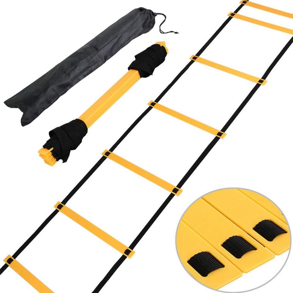 4 Metres Nylon Agility Ladder For Soccer Speed Training Stairs Soccer Football Speed Training Sports Fitness Equipment For Child