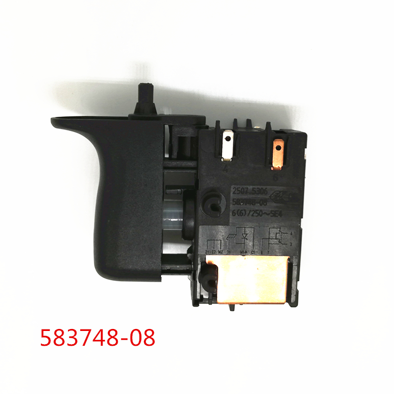 Switch 583748-08 For DEWALT D25203 D25304 D25213 D25313 D25313K D25314 D25314K D25201K 58374808 D25303 Power Tool Accessories