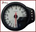 120 MM APEX DECS 3 en 1 Metro (3 en 1 Metro RPM Tacómetro/Calibrador del Temp de Agua/Aceite Meter Press) NEGRO O BLANCO de LA CARA
