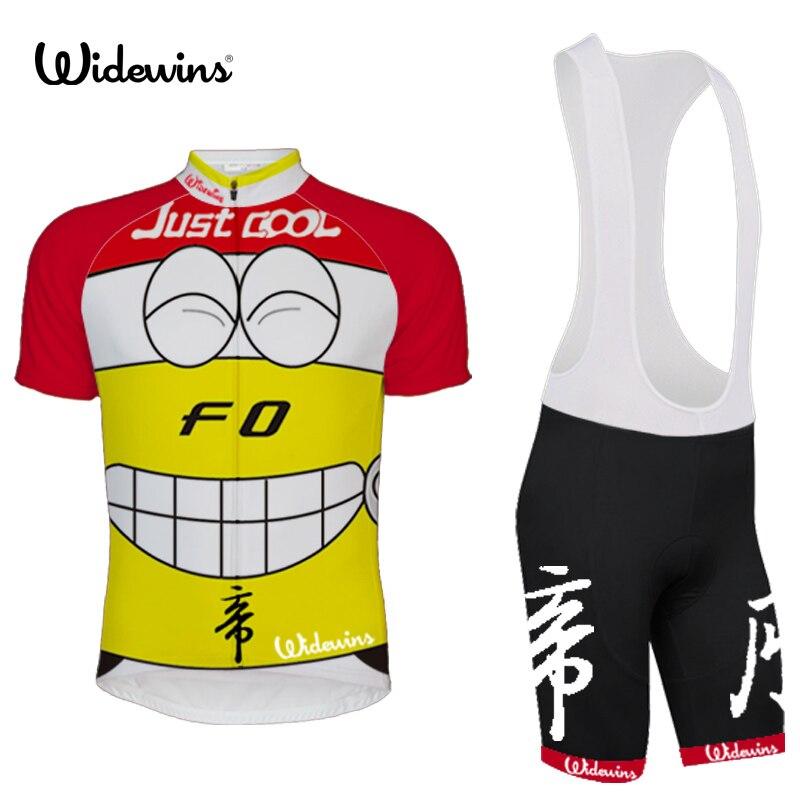 Sourire visage cyclisme maillot Ropa Ciclismo F0 voiture vélo vêtements à manches courtes vélo vêtements Pro équipe Cycle chemise juste cool 6500