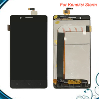 TOP Quality 5 Inches Black Full LCD Display Touch Screen Digitizer Assembly For KENEKSI Storm Replacement