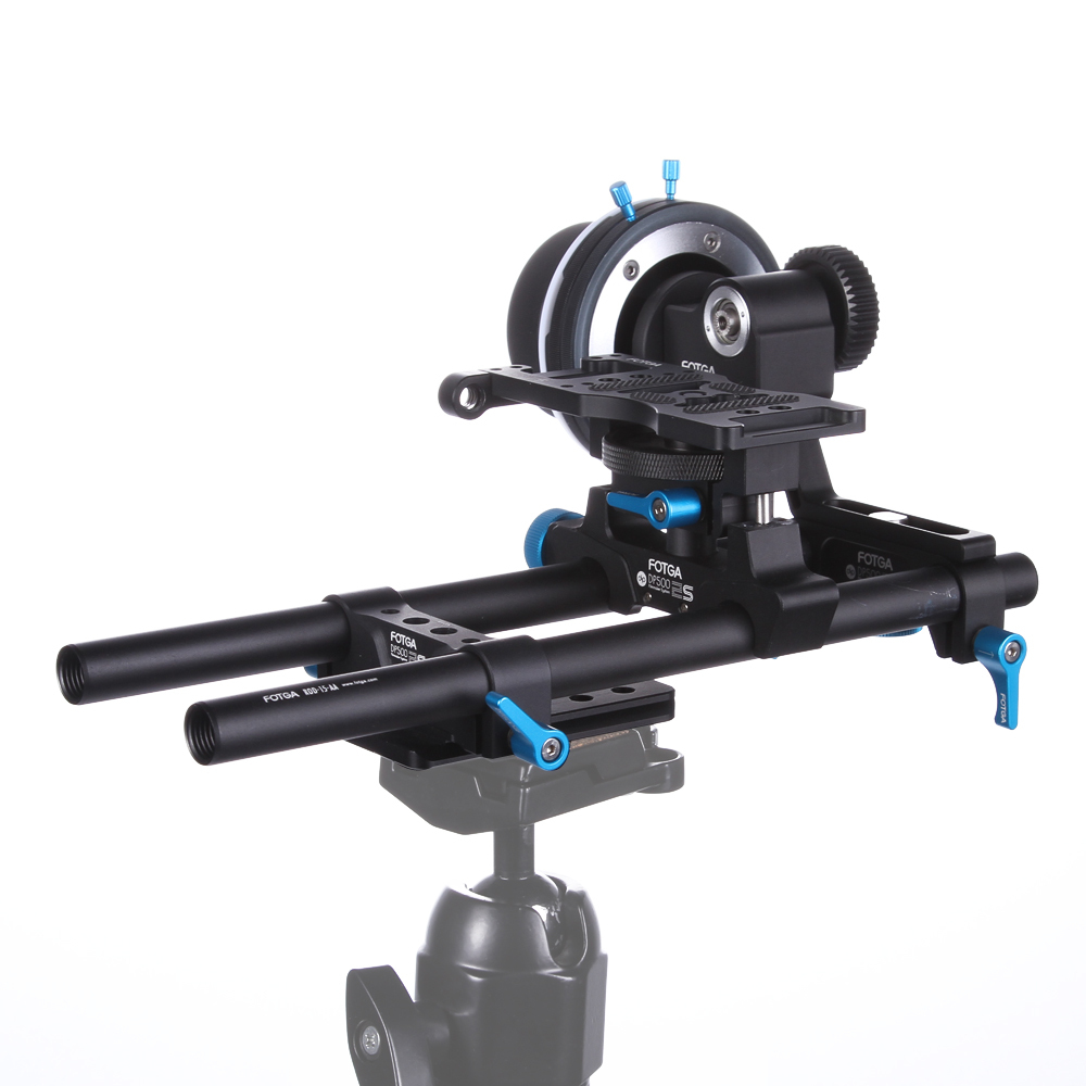 FOTGA DP500IIS A B Hard Stop Follow Focus 15mm Rod Rail Cheese Baseplate Rig Set