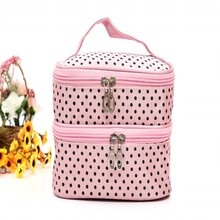 New Arrivals Multifunction Makeup Organizer Bag High Quality Travel Cosmetic Bag Toiletry Beauty Women Handbag Pouch Vanity Case