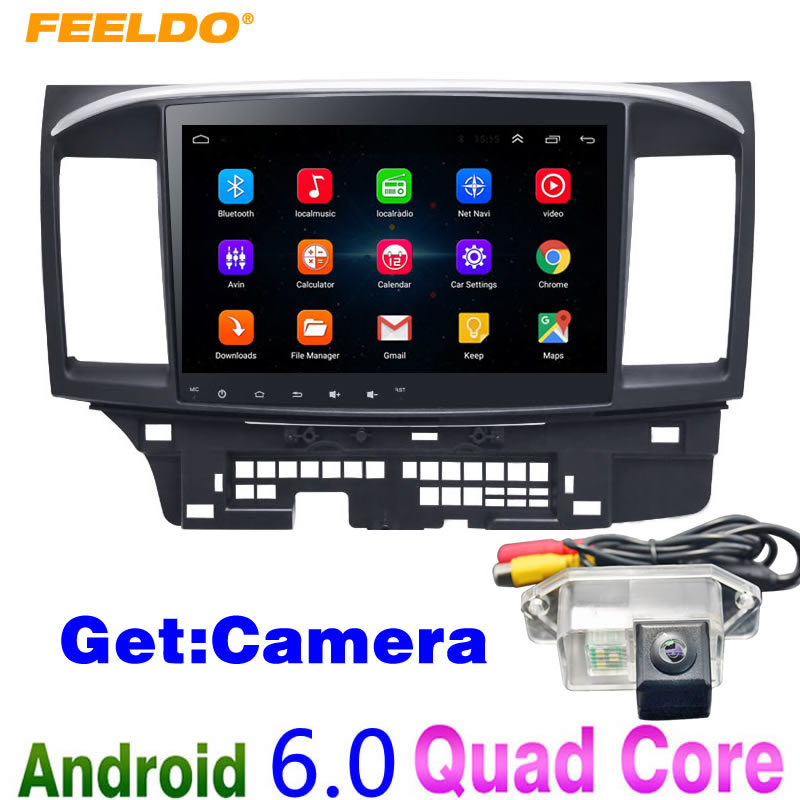 LEEWA 10inch Bigger HD Screen Android 6 0 Car Media Player With GPS Navi Radio For