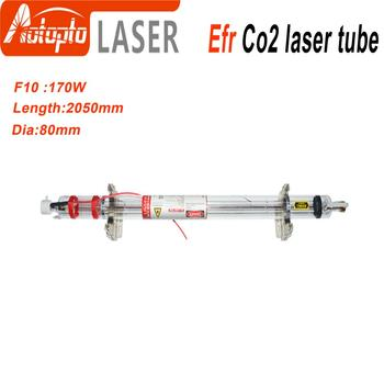 Efr CO2 Laser Tube F10 170W-185W for CO2 Laser Marking Engraving Machine Wooden Box Packing efr f2 80w co2 glass laser tube 80mm diameter 1250mm length for co2 laser engraving machine