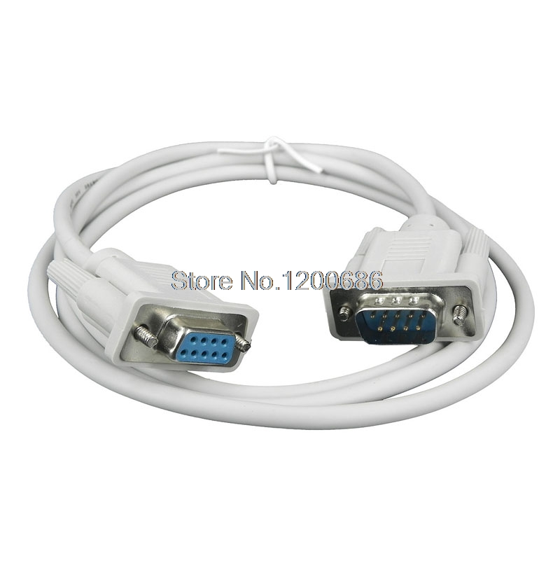 5M 9 pin serial cable RS232 extension wire harness DB9 ...
