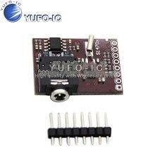 MCU-470 Si4703 Sintonizador FM Sintonizador de Rádio Da Placa De Avaliação Placa de Desenvolvimento