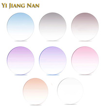 Yi Jiang Nan Brand 1.61 Index M-8 1.67 M7 Lenses Thin Tint Lens Customize Colored
