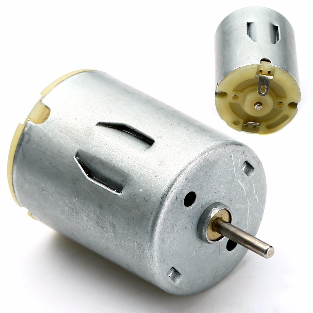 6 Set Small DC motor Mini Electric Hobby Motors 1.5V-3V 15000RPM