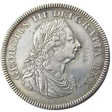 GREAT BRITAIN TRADE DOLLAR 1804 GEORGE III Silver Plated Copy Coin(China)