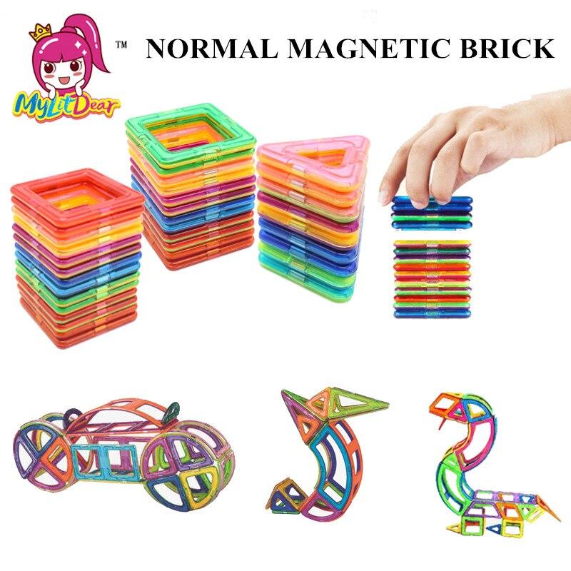 1 Stücke Magnetische Gebäude Big Größe Magnetische Designer Diy Magnetische Designer Bau 3d Magnet Spielzeug Für Kinder