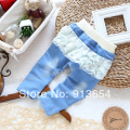 new 2014 spring autumn children pants baby clothing kids jeans baby girls leggings casual pants child lace denim pants