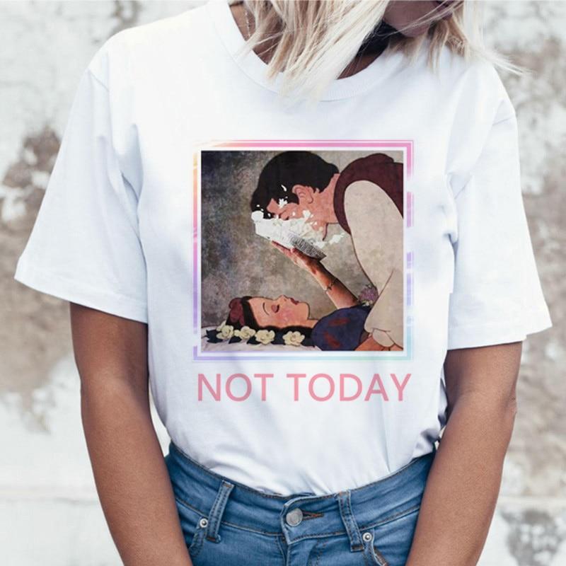 Aesthetic Grunge Funny T Shirt Women Print Short Sleeve T-shirt Harajuku Ullzang Tshirt Fashion Top Graphic Tees Female