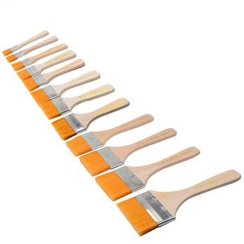 1 Piece Differeent Size Nylon Oil Painting Brush Home Decoration Environmental Paint Brush Tool Brush Art Supply